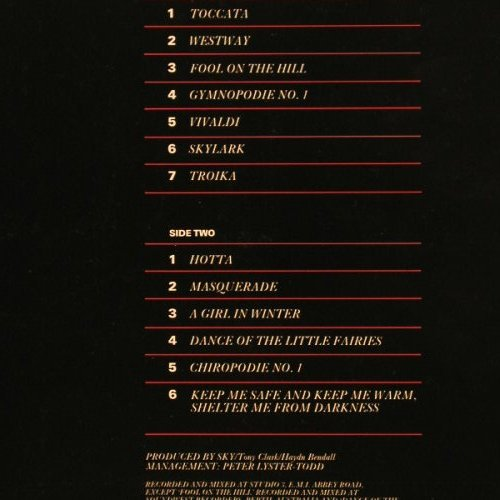 Sky: Masterpieces-Very Best Of, Foc, Telstar(2241), , 84 - LP - B3166 - 5,00 Euro