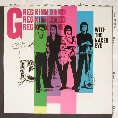 Kihn Band,Greg: With The Naked Eye,SS, Line(BELP 4.00482 J), D, 88 - LP - B3175 - 4,00 Euro