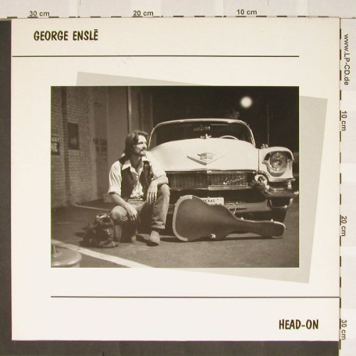 Ensle,Georgie: Head-on, White Vinyl, Line(SDLP 4.00420 J), D, 87 - LP - B3183 - 3,00 Euro