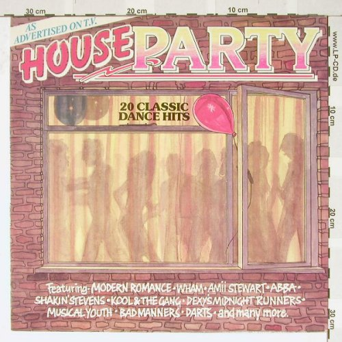 V.A.House Party: 20 Classic Dance Hits, Creole(CTV2), UK, 85 - LP - B3326 - 4,00 Euro