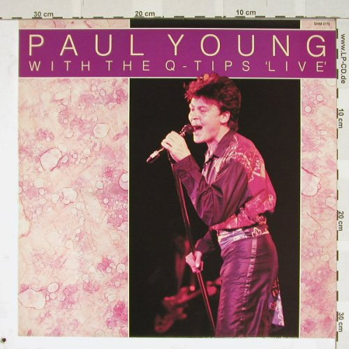 Young,Paul with the Q-Tips: Live, Hallmark(SHM 3175), UK, 82 - LP - B3482 - 5,50 Euro