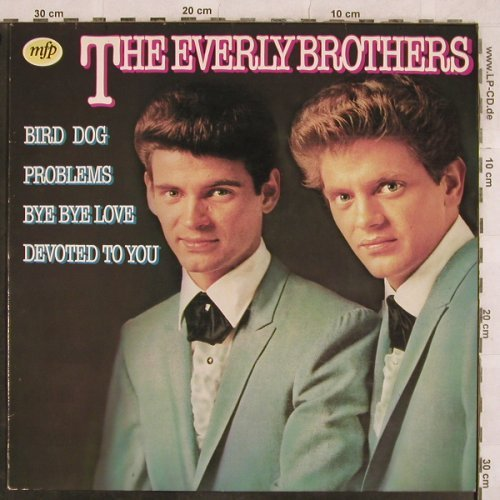 Everly Brothers: Same, 14 Tr., MFP(1A022-58092), NL, 1980 - LP - B363 - 4,00 Euro