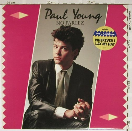 Young,Paul: No Parlez, CBS(CBS 25 521), NL, 1983 - LP - B3890 - 4,00 Euro
