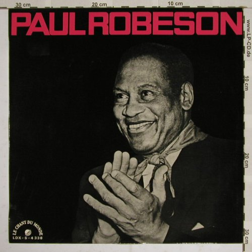 Robeson,Paul: Same, Le Chant D(LDX-S 4338), F,  - LP - B4346 - 6,00 Euro