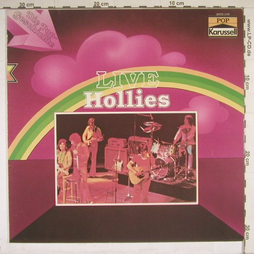 Hollies: Live, Karussell(2872 110), D,  - LP - B4388 - 4,00 Euro
