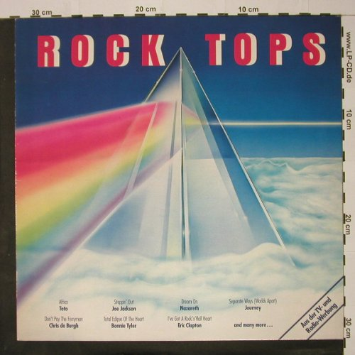 V.A.Rock Tops: Bonnie Tyler...Foreigner, 14 Tr., K-tel(TG 1451), D, 1983 - LP - B43 - 3,00 Euro