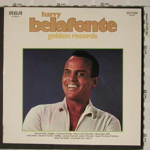 Belafonte,Harry: Golden Records, Club-Ed., RCA(27 502-4), D,  - LP - B4813 - 4,00 Euro