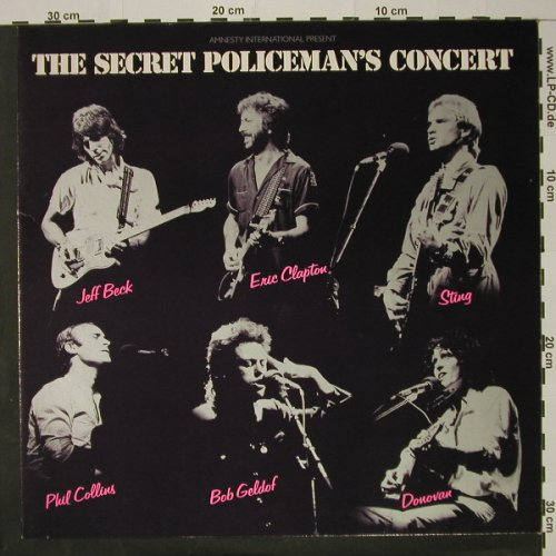V.A.The Secret Policeman's Concert: 11 Tr., Isl.(204 368-320), D, 82 - LP - B5293 - 6,50 Euro