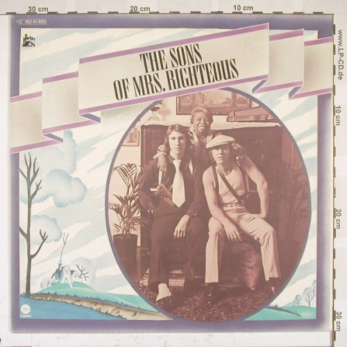 Righteous Brothers: The Sons Of Mrs.Righteous, Capitol(C 062-81 880), D, 75 - LP - B5321 - 7,50 Euro
