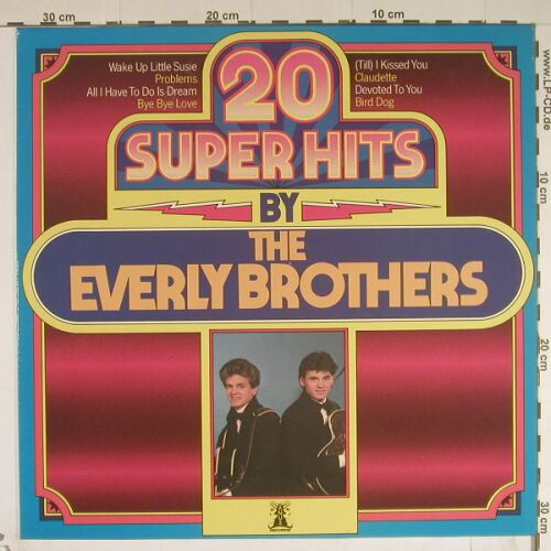 Everly Brothers: 20 Super Hits By, Janus(6.23484AP), D, 78 - LP - B559 - 2,50 Euro