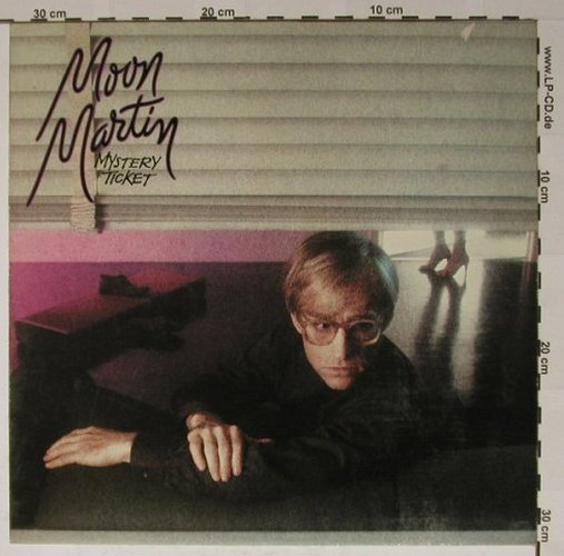 Moon Martin: Mystery Ticket, Capitol(064-400 087), D, 1981 - LP - B5625 - 4,00 Euro