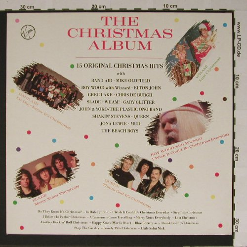 V.A.The Christmas Album: 15 Tr., Virgin(), D, 85 - LP - B5749 - 4,00 Euro