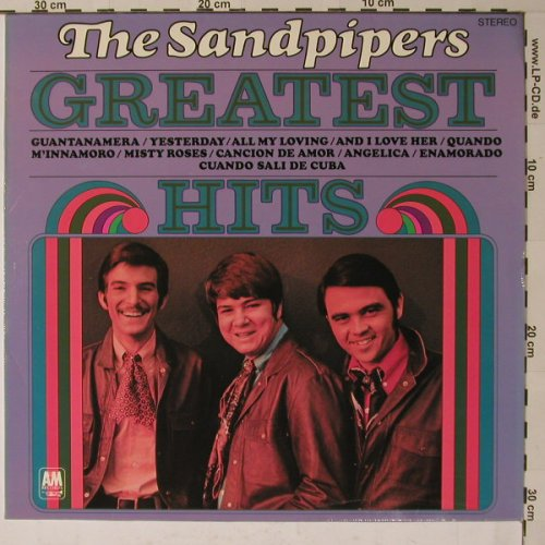 Sandpipers: Greatest Hits, AM(80 694 IT), D,  - LP - B6026 - 5,50 Euro
