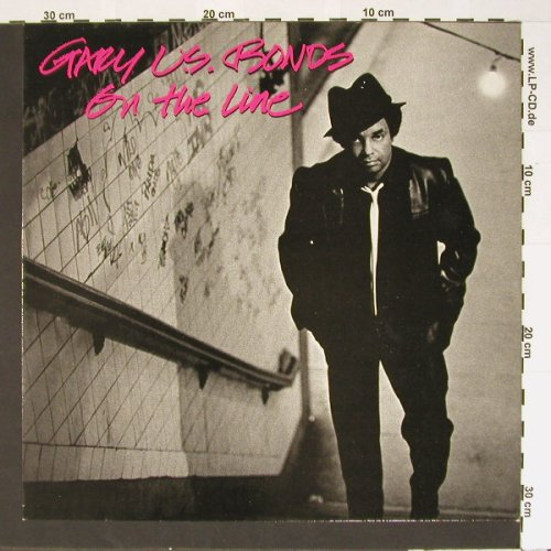 Gary U.S.Bonds: On the Line, Ri, EMI(1A 064-400099), D, 1982 - LP - B6708 - 5,50 Euro