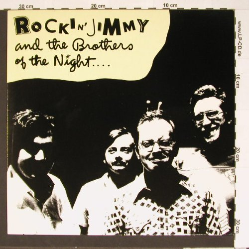 Rockin'Jimmy &t.Brothers o.t.Night: Same, Metron.(0060.326), D, 80 - LP - B6922 - 6,50 Euro