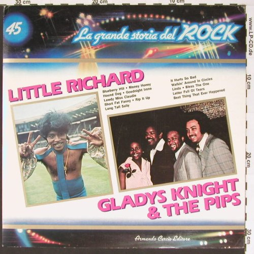 V.A.La Grande Storia Del Rock 45: Little Richard/GladysKnight.., ArmadoCur(GSR-45), I,  - LP - B7123 - 5,00 Euro