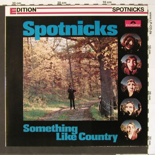 Spotnicks: Something Like Country, Ri, Polydor(2485 207), D,  - LP - B7325 - 5,00 Euro