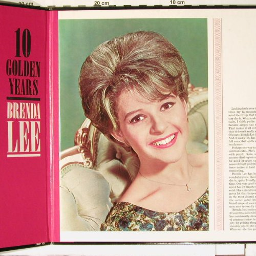 Lee,Brenda: 10 Golden Years,De Luxe Ed.,Foc, Decca(DL 74757), US-Promo,  - LP - B7343 - 30,00 Euro