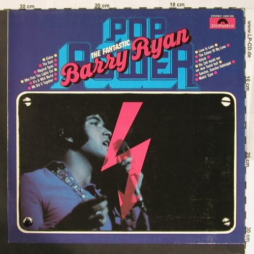 Ryan,Barry: The Fantastic - Pop Power, Polyd.(2459 306), D, Ri,  - LP - B7766 - 5,00 Euro