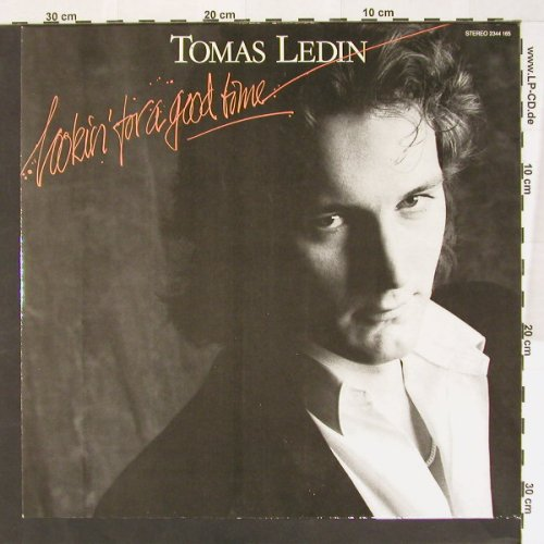 Ledin,Tomas: Looking For A Good Time, m-/vg+, Polydor(2344 165), D, 80 - LP - B7778 - 5,00 Euro