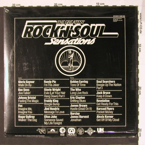 V.A.The Greatest Rock'n'Roll: Sensations,, FS-New, div(2480 306), D,  - LP - B7923 - 9,00 Euro