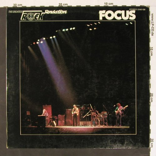 Focus: Rock Sensation, Karussell(2345 106), D,  - LP - B8381 - 6,50 Euro