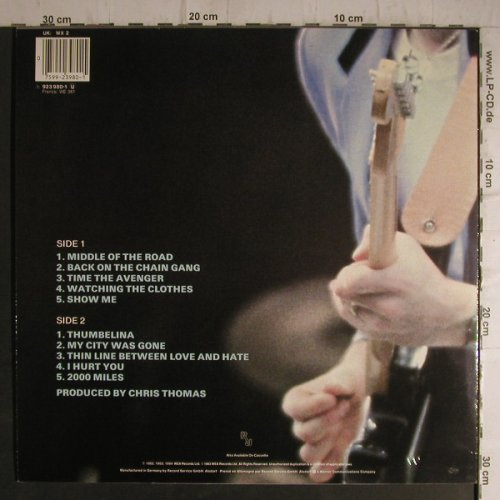 Pretenders: Learning To Crawl, WEA(923 980-1), D, 1984 - LP - B8658 - 4,00 Euro