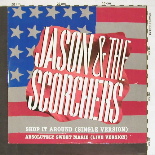 Jason & The Scorchers: Shop It Around+3, EMI(12 EA 200), UK, 85 - 12inch - B9383 - 3,00 Euro