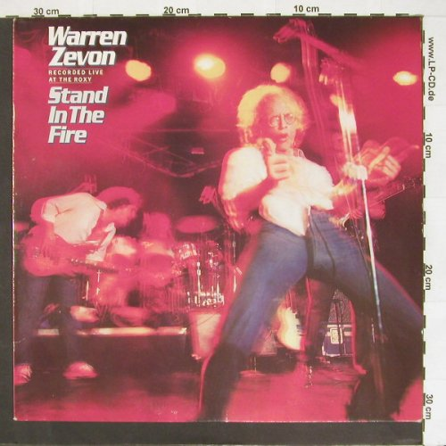 Zevon,Warren: Stand In The Fire-Live, Asylum(AS 52265), D, 80 - LP - B9401 - 5,50 Euro