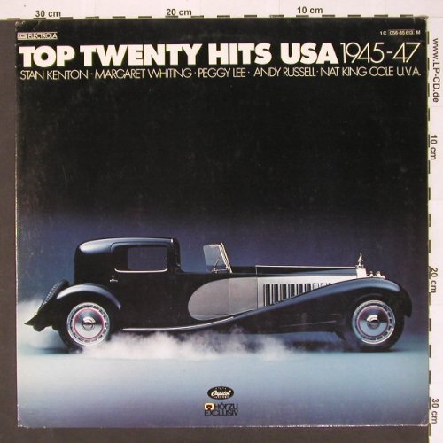 V.A.Top Twenty Hits USA: 1945-47 - 15 Tr., Capitol(056-85 613), D, 78 - LP - B9567 - 4,00 Euro
