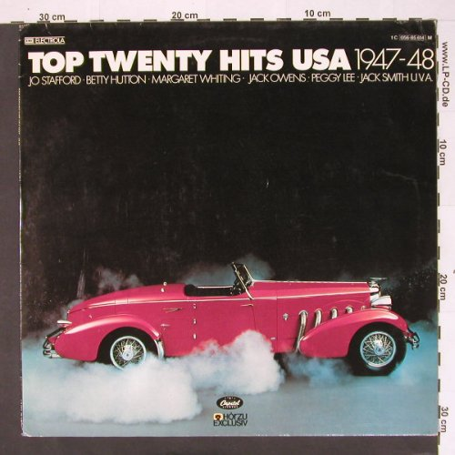 V.A.Top Twenty Hits USA: 1947-48 - 16 Tr., Capitol(056-85 614), D, 78 - LP - B9568 - 4,00 Euro