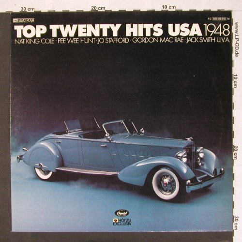 V.A.Top Twenty Hits USA: 1948, 16 Tr., Capitol(056-85 615), D, 78 - LP - B9569 - 4,00 Euro