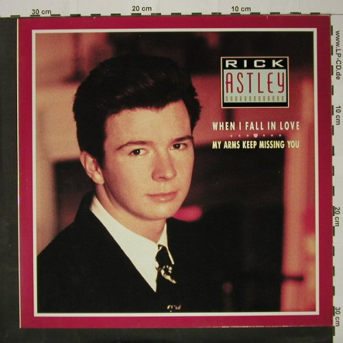 Astley,Rick: When I Fall In Love+2, RCA(PT 41684), , 87 - 12inch - B9663 - 1,50 Euro