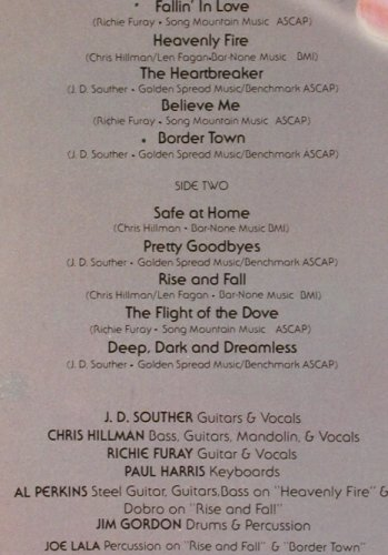 Souther Hillman Furay Band: Same, Foc, Asylum(7E -1006), US, Co, 74 - LP - B9735 - 5,50 Euro