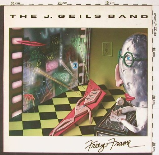 Geils Band,J.: Freeze-Frame, EMI(064-400 064), NL, 1981 - LP - B9802 - 5,00 Euro