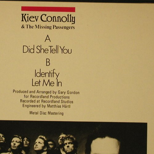 Connolly,Kiev & Missing Passengers: Did She Tell You+2, Ariola(601 651-213), D, 85 - LP - B989 - 4,00 Euro
