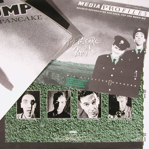 Stump: A Fierce Pancake + Booklet, Chrysalis(208 951), D, 1988 - LP - C1045 - 5,00 Euro