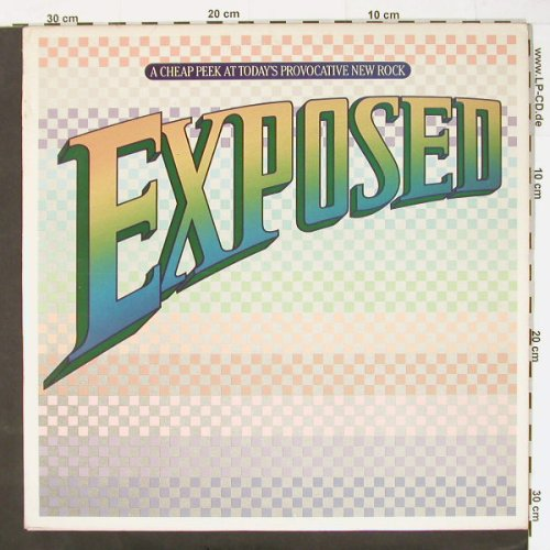 V.A.Exposed: A Cheap Peek At Today's, 22 Tr.,Foc, Epic(X2 37124), US,  - 2LP - C1123 - 5,00 Euro