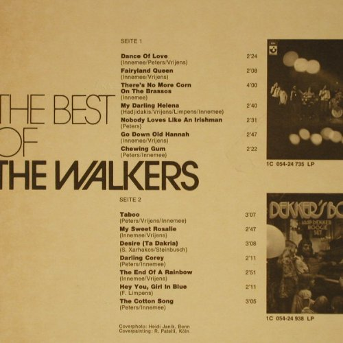 Walkers,The: The Best Of, Columb.(C 054-94 926), D,  - LP - C1149 - 14,00 Euro