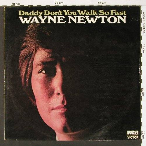 Newton,Wayne: Daddy Don't You Walk So Fast, RCA(LSP-10 382), D,whMuster, 72 - LP - C1163 - 7,50 Euro