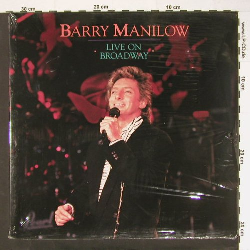 Manilow,Barry: Live On Broadway, FS-New, Arista(303 785), D, 90 - LP - C1195 - 9,00 Euro