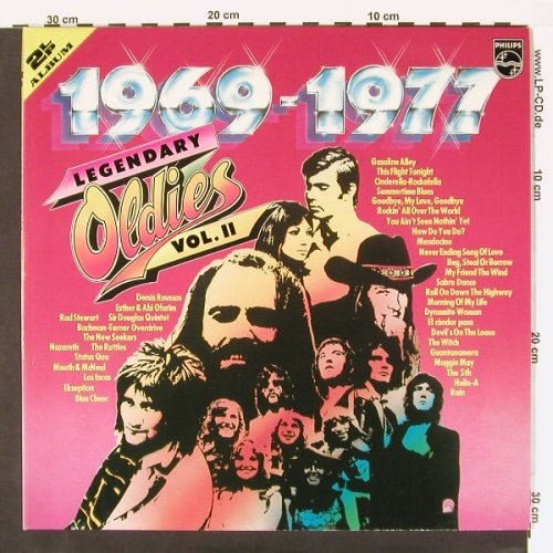 V.A.Legendary Oldies Vol.2: 1999-1977, Foc, Philips(6686 045), D,  - 2LP - C122 - 6,00 Euro