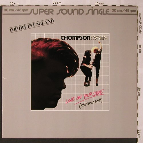 Thompson Twins: Love On Your Side(RapBoyRap)*2, Arista(600 765-213), D, 83 - 12inch - C1248 - 3,00 Euro