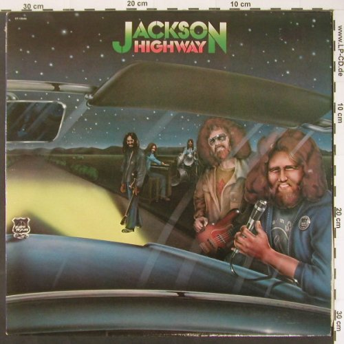 Jackson Highway: Same, Capitol(ST-12044), US, 1980 - LP - C1771 - 7,50 Euro