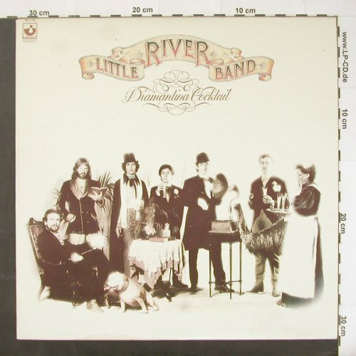 Little River Band: Diamantina Cocktail, Harvest(SW-11645), CDN, 77 - LP - C1862 - 5,00 Euro