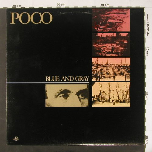 Poco: Blue And Grey, co, MCA(5227), CDN, 1981 - LP - C1871 - 7,50 Euro