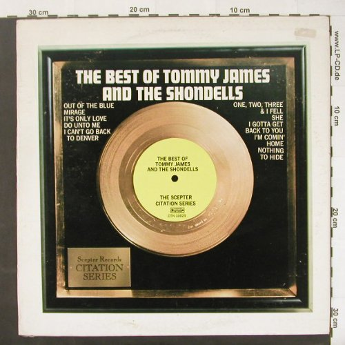 James,Tommy & the Shondells: The Best of,Citation Series, m-/vg+, Scepter(CTN 18025), US, 1973 - LP - C1881 - 9,00 Euro