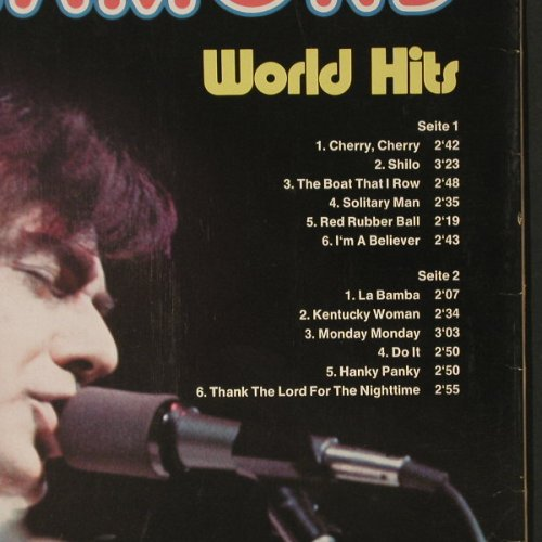 Diamond,Neil: World Hits, Bellaphon(BI 15108), D, 1974 - LP - C1890 - 5,00 Euro