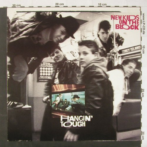 New Kids On The Block: Hangin' Tough, CBS(CBS 460874 1), NL, 1988 - LP - C1895 - 6,00 Euro