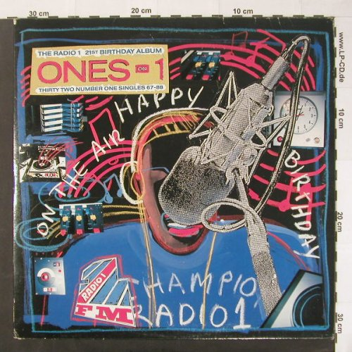 V.A.Ones on 1: Radio 1-21st Birthday Album,Foc, BBC(REF 693), , 88 - 2LP - C1912 - 5,00 Euro